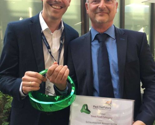 Schaumaplast gewinnt Pack the Future Award 2017