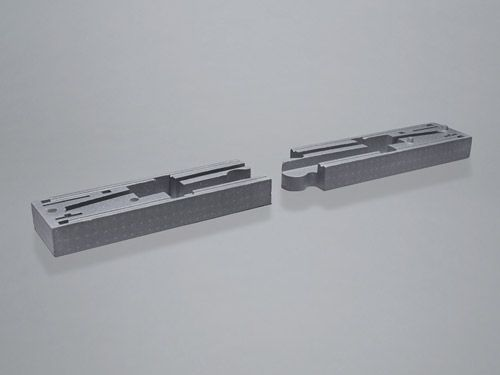 Technical molded part for packaging protection